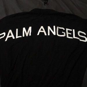 Small Palm Angels Men Black Tee